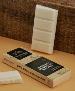 Lime, Basil & Mandarin Wax Melt Snap Bar