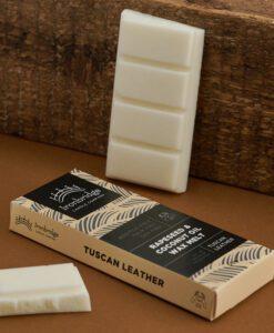 Tuscan Leather Wax Melt Snap Bar