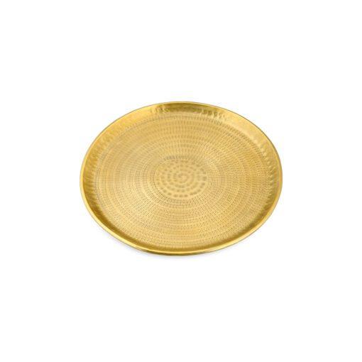 Mahika Tray - Antique Brass