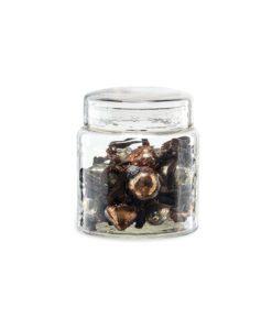 Adisa Bauble Jar - Antique Gold & Rust (Set of 16)